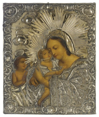 THE MOTHER OF GOD WITH ST. JOH