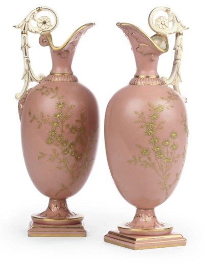 A PAIR OF GRAINGER'S WORCESTER