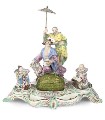 A MEISSEN CHINOISERIE FIGURAL