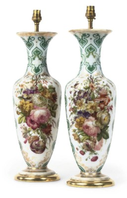 A PAIR OF LATE VICTORIAN OPALI