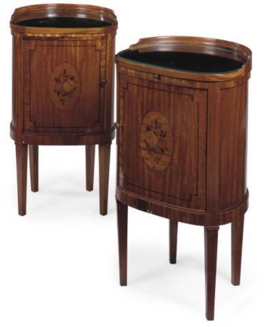 A PAIR OF HUNGARIAN FRUITWOOD
