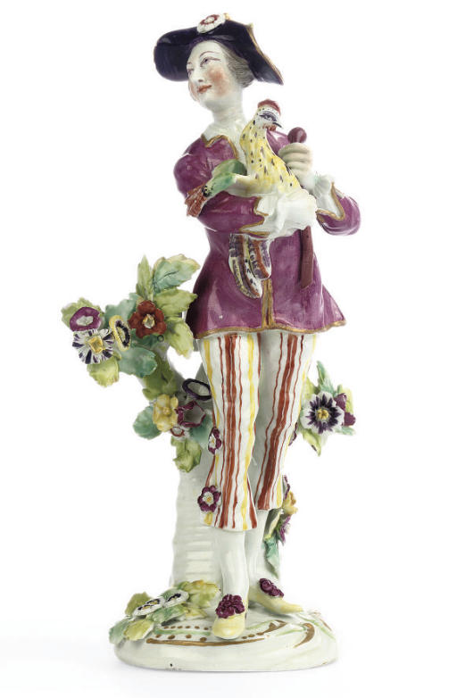A DERBY FIGURE OF A GALLANT