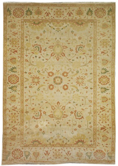 A FINE ZIEGLER DESIGN CARPET