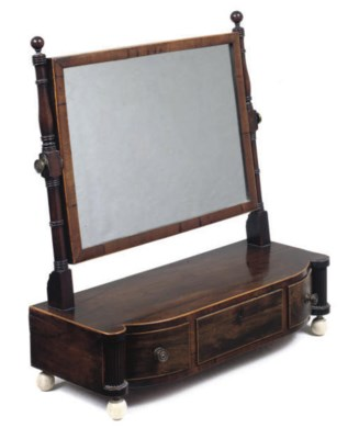 A REGENCY ROSEWOOD BOWFRONT DR