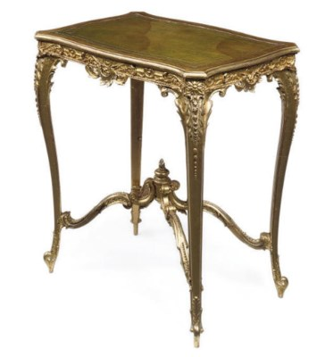 A LATE VICTORIAN GILT COMPOSIT
