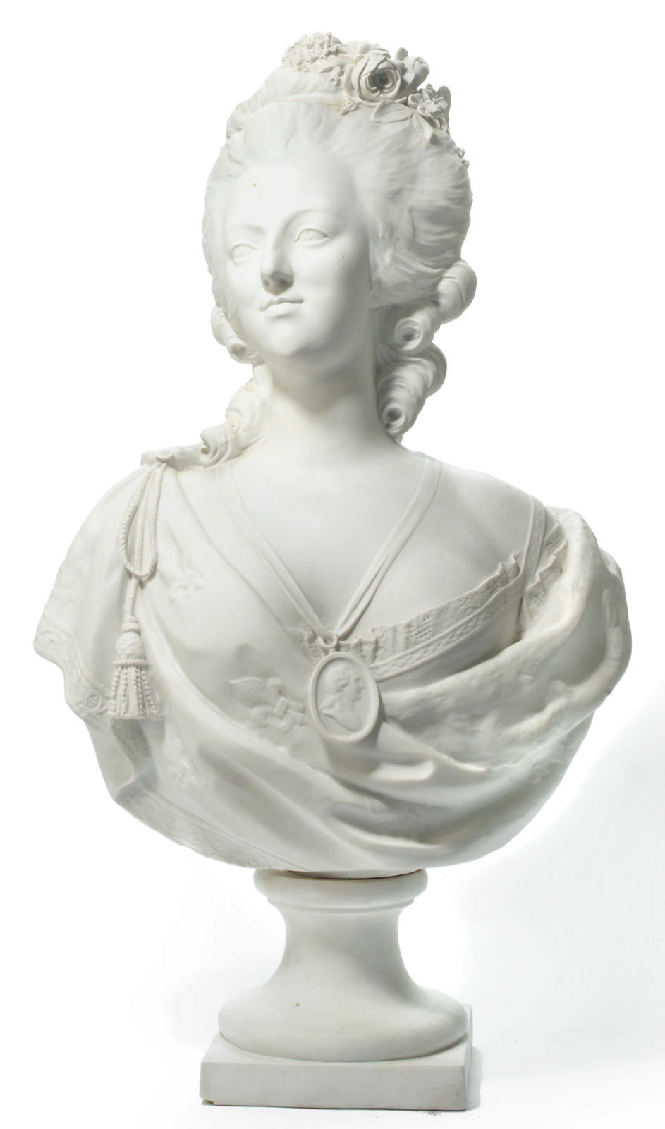 A PARIAN BUST OF MARIE-ANTOINE
