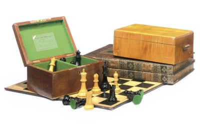 A STAUNTON BOXWOOD AND EBONY C