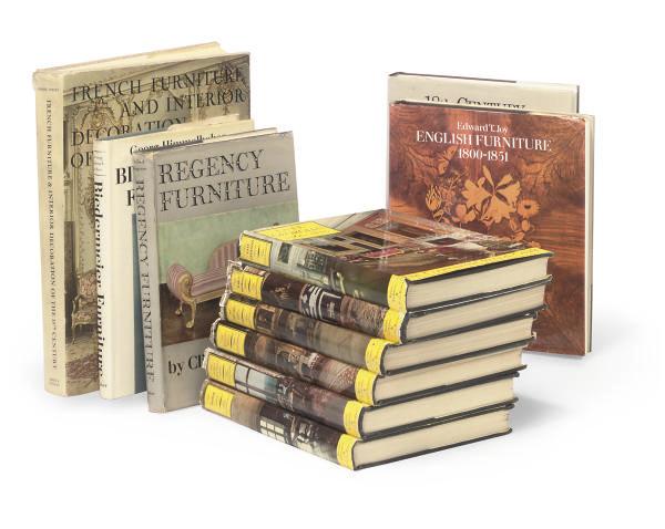 BOOKS -- FURNITURE. Pictorial