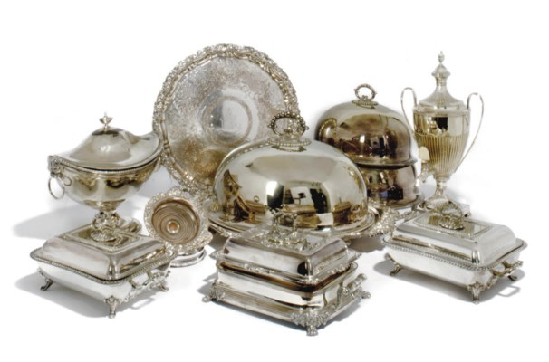 A COLLECTION OF ELECTROPLATED