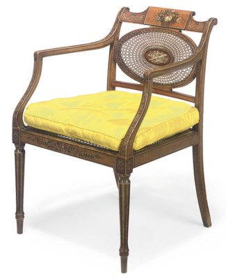 A REGENCY SIMULATED SATINWOOD