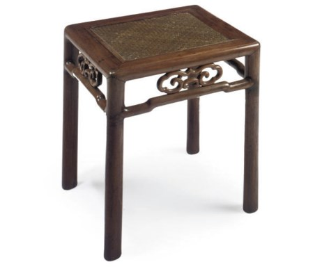 A CHINESE HUANG-HUALI RATTAN S
