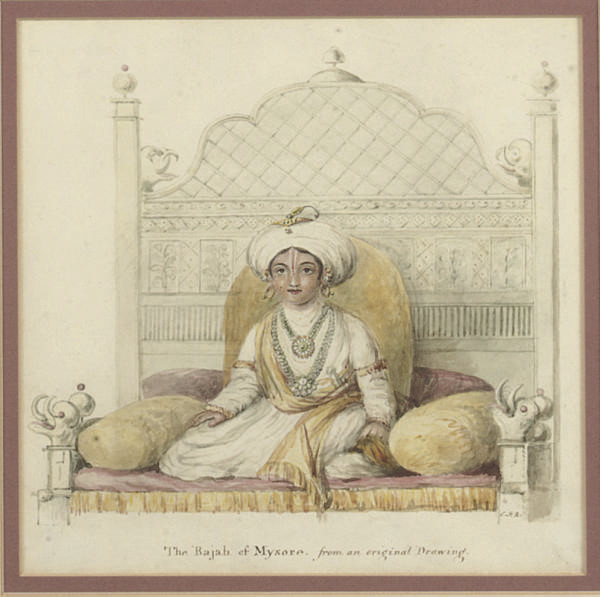 THE RAJAH OF MYSORE, INDIA, 19