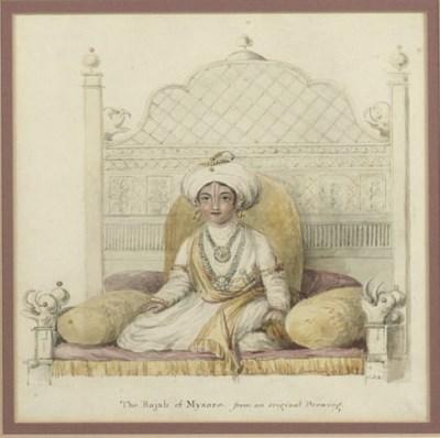 THE RAJAH OF MYSORE, INDIA, 19