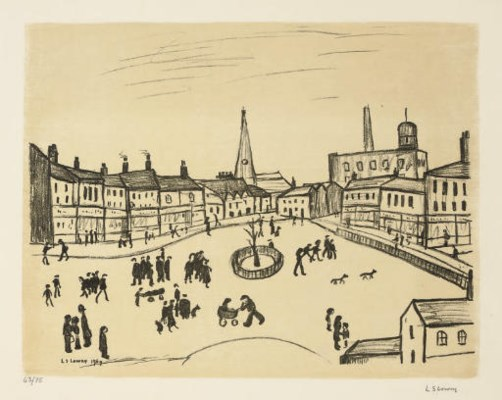 Laurence Stephen Lowry R.A. (1