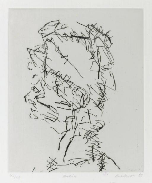 Frank Auerbach RA (B. 1931)