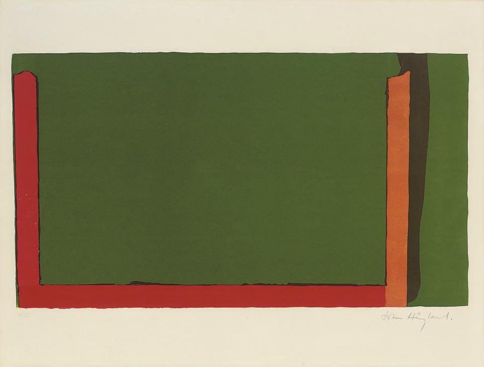 John Hoyland (B. 1934)