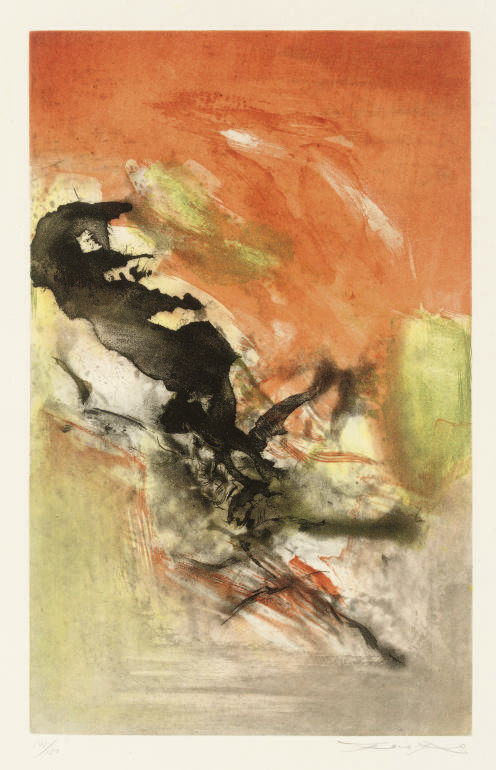 Zao Wou-Ki (B, 1921)