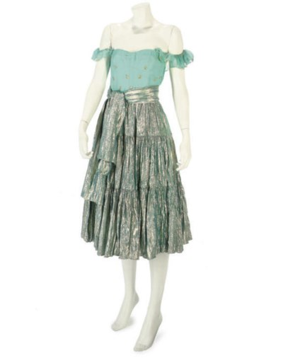 THEA PORTER COUTURE, A TURQUOI