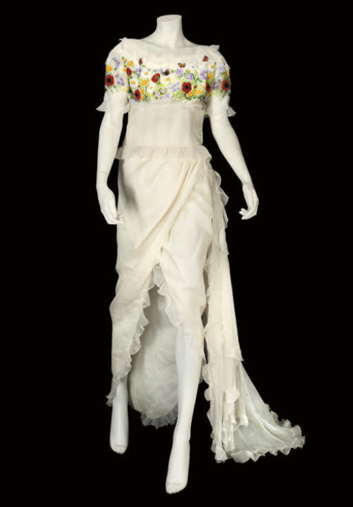 CHRISTIAN DIOR COUTURE, AN EMB