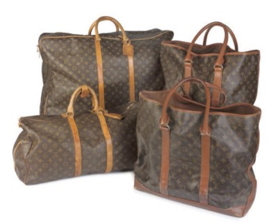 LOUIS VUITTON, A GROUP OF SOFT