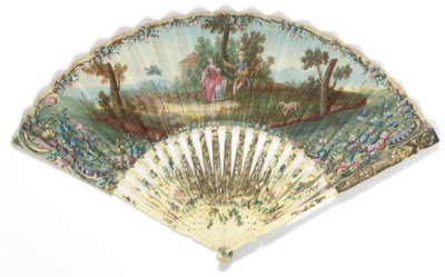 THE GARLAND MAKERS, A FAN