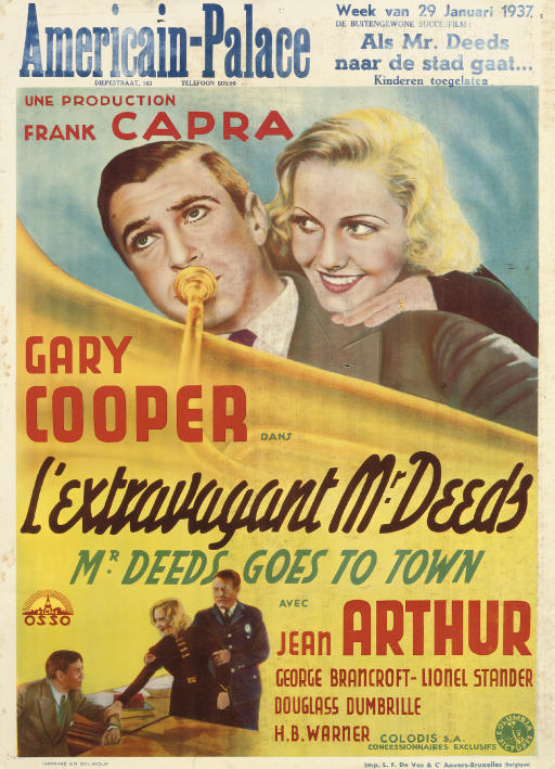 Mr. Deeds Goes To Town  L'Extr