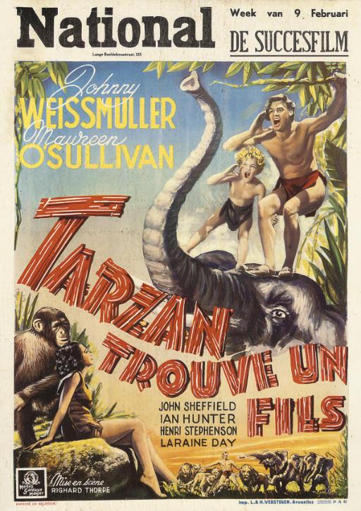 Tarzan Finds A Son  Tarzan Tro