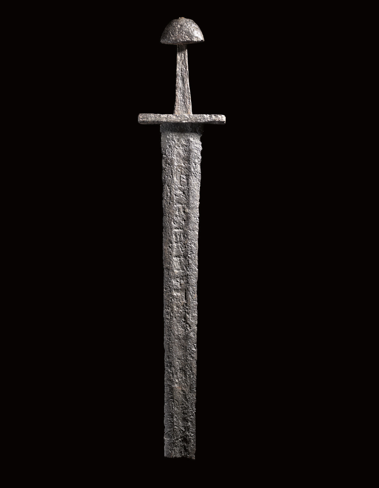 A VERY RARE VIKING SWORD, THE