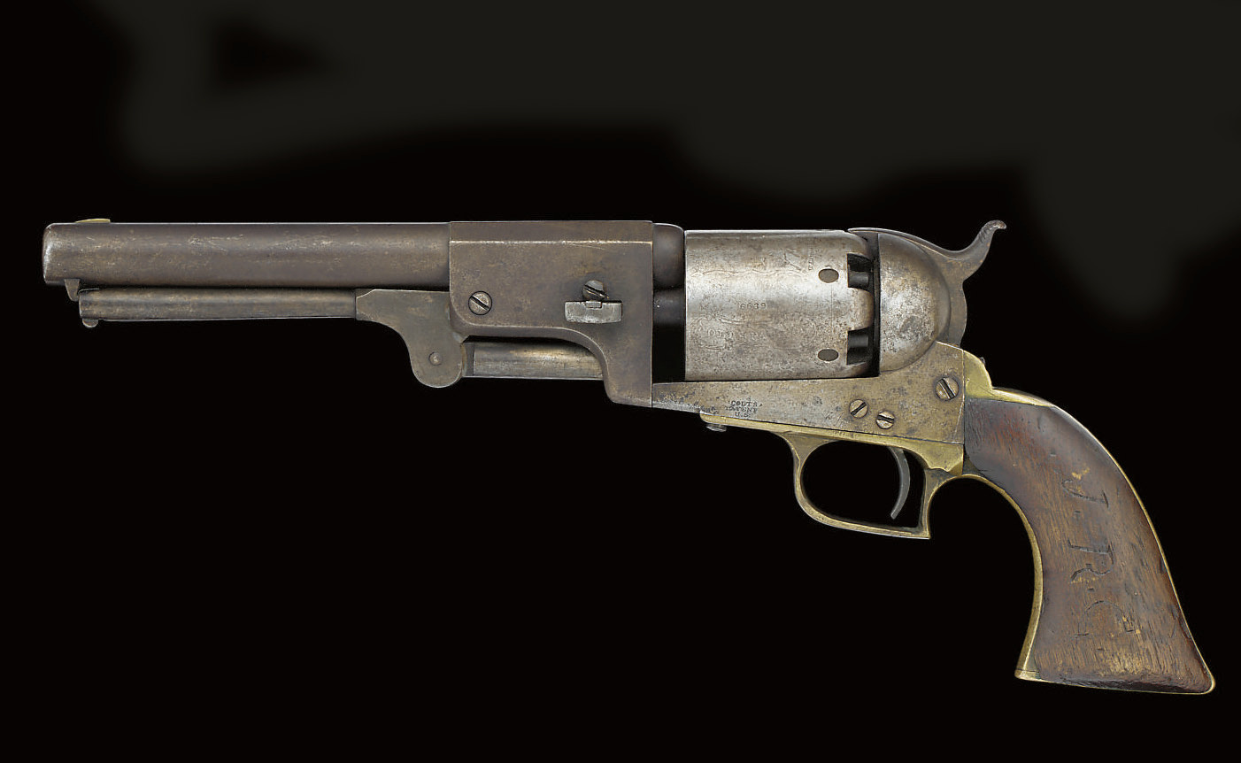 A .44 CALIBRE COLT FIRST MODEL