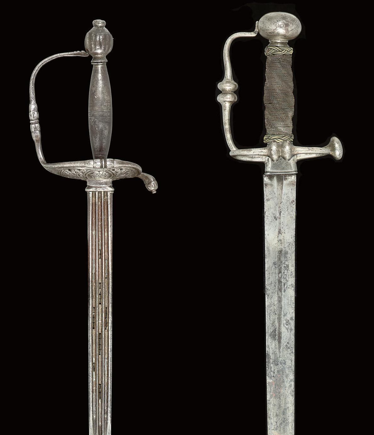 A NORTH EUROPEAN SMALL-SWORD,