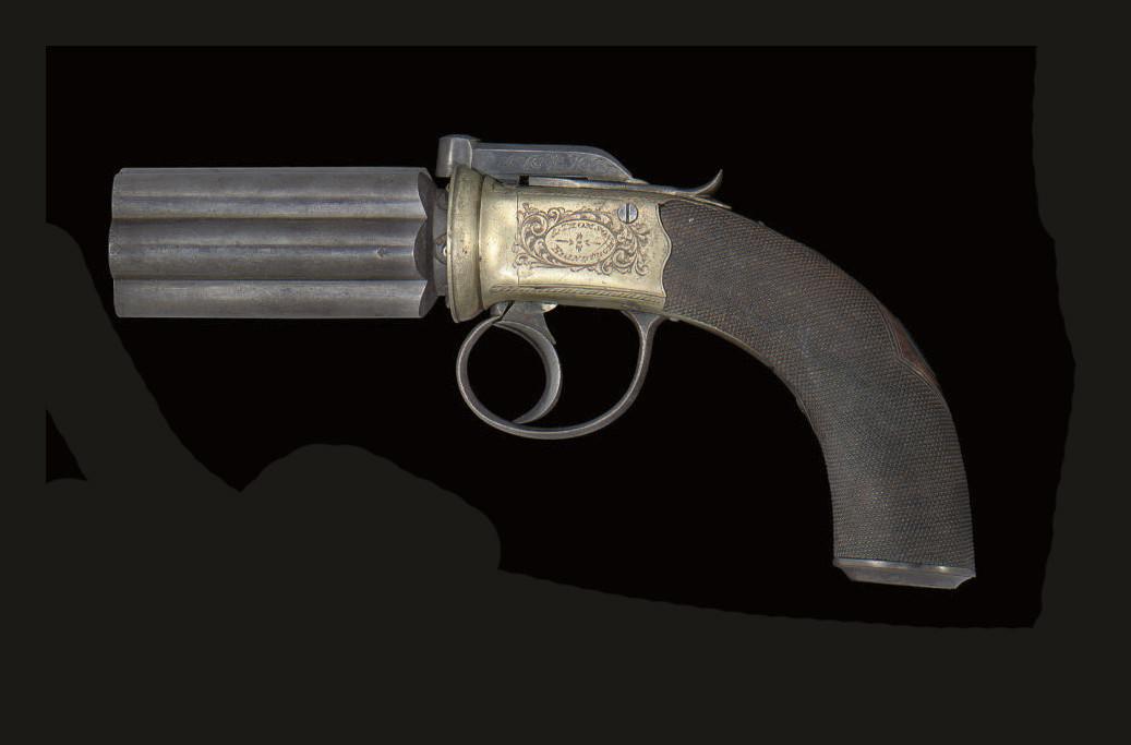 A SIX-SHOT PERCUSSION SELF-COC