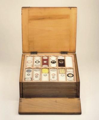 Box of microscope slides