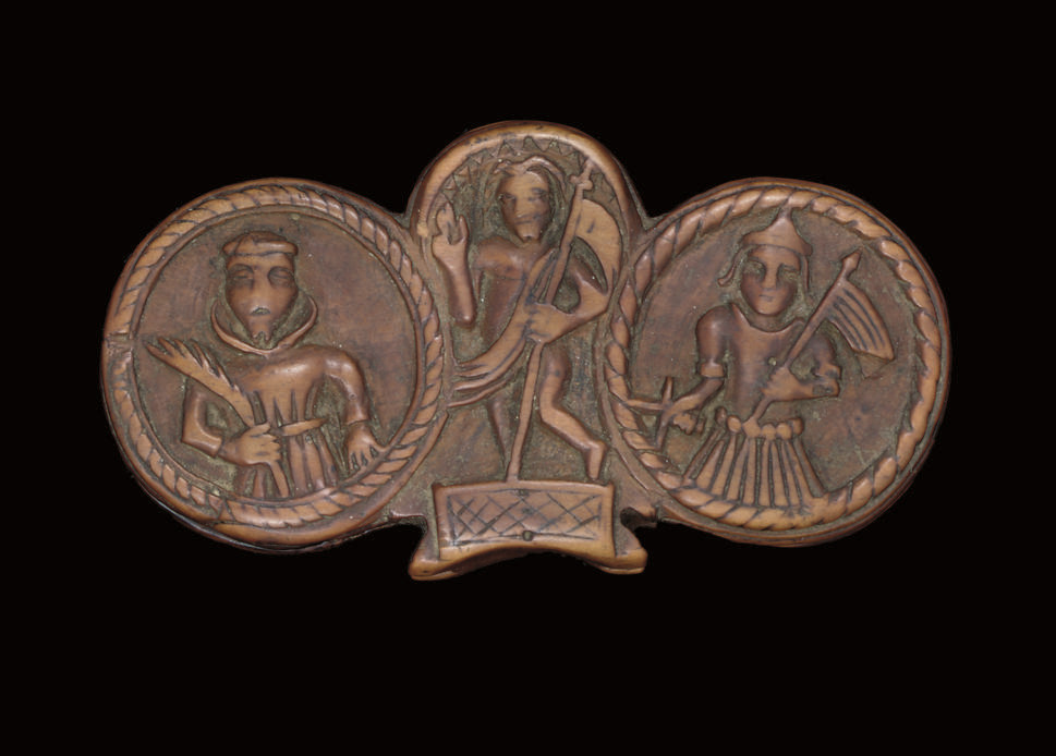 A 17th-century carved boxwood