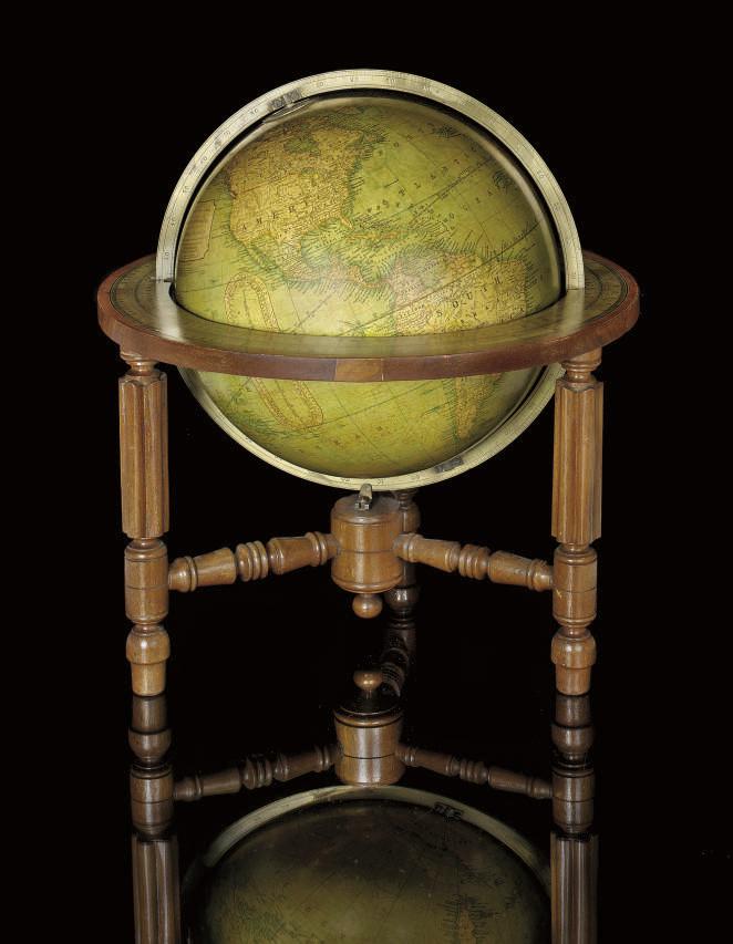 An English 12-inch terrestrial