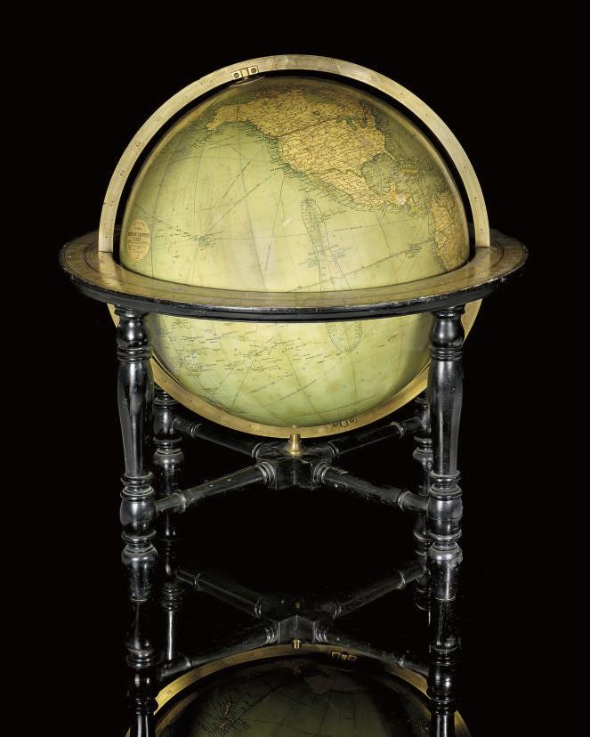 An 18-inch terrestrial globe
