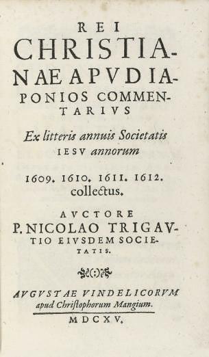 TRIGAULT, Nicolas (1577-1628).