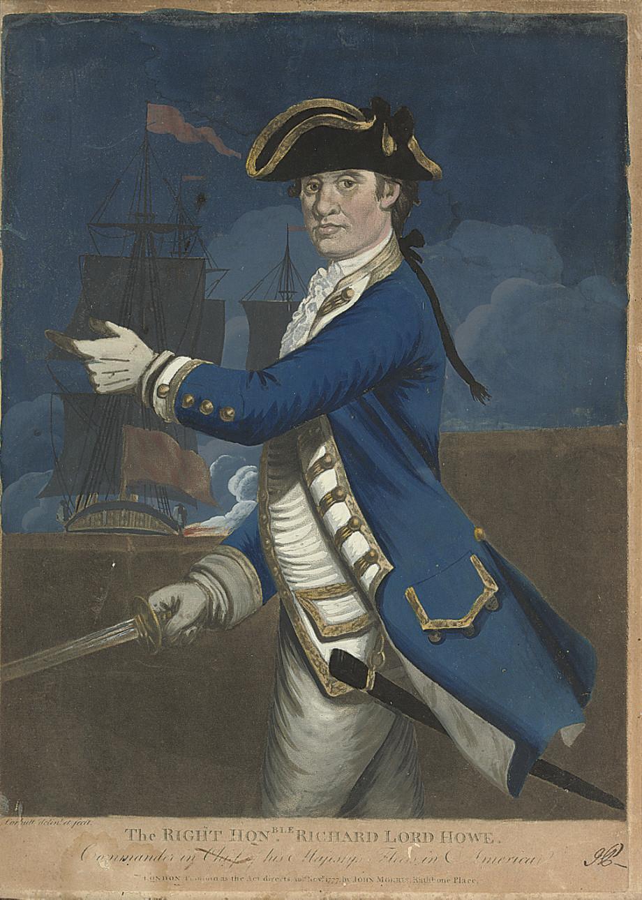 British 18th Century Commander
