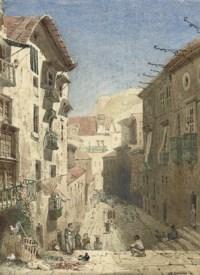 A Christian Procession in the Travessa de Palma, Lisbon