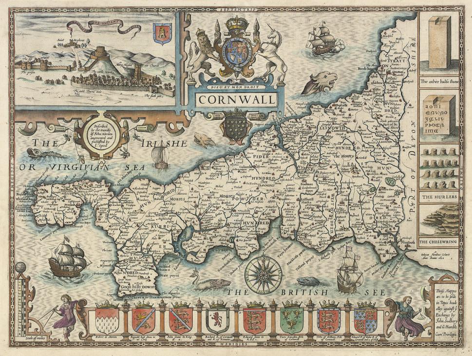 SPEED, John (1552-1629).  Corn