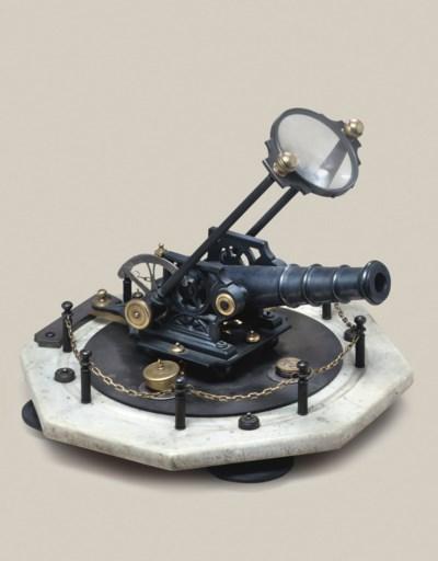 A large Portuguese cannon dial
