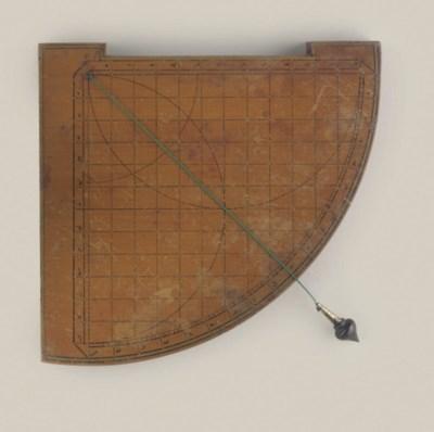 An 18th century astrolabic qua