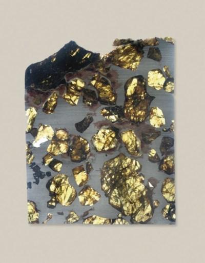 A Fukang Pallastie Meteorite S