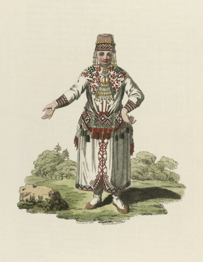 Costume of the Russian Empire.