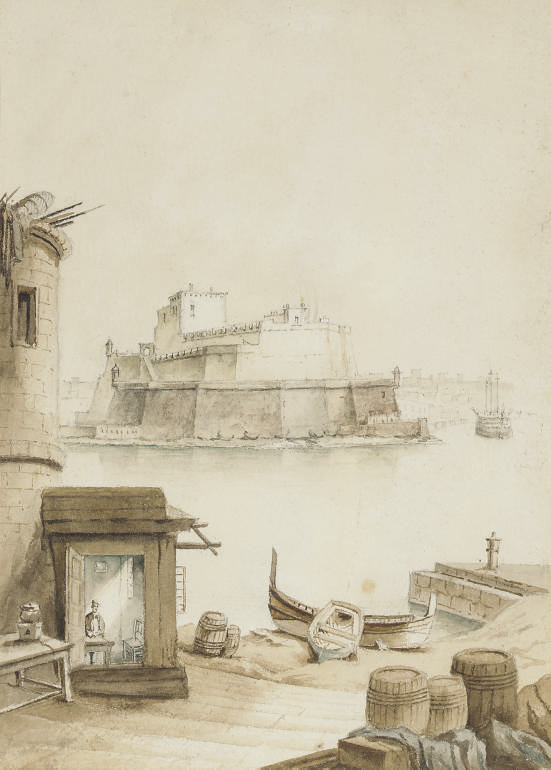 The Fort of St Angelo, Valletta, Malta
