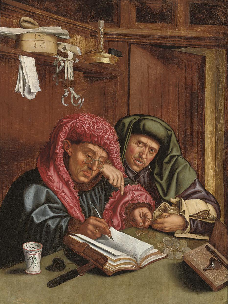 After Marinus van Reymerswaele