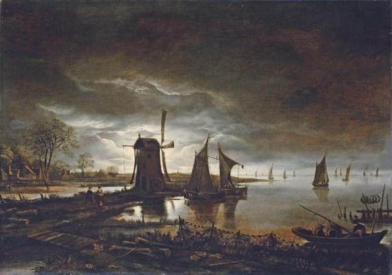 Circle of Aert van der Neer (A