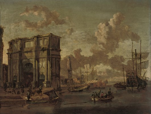 Attributed to Abraham Storck (