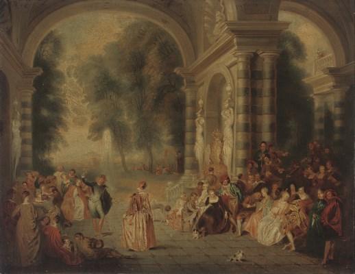 After Jean-Antoine Watteau
