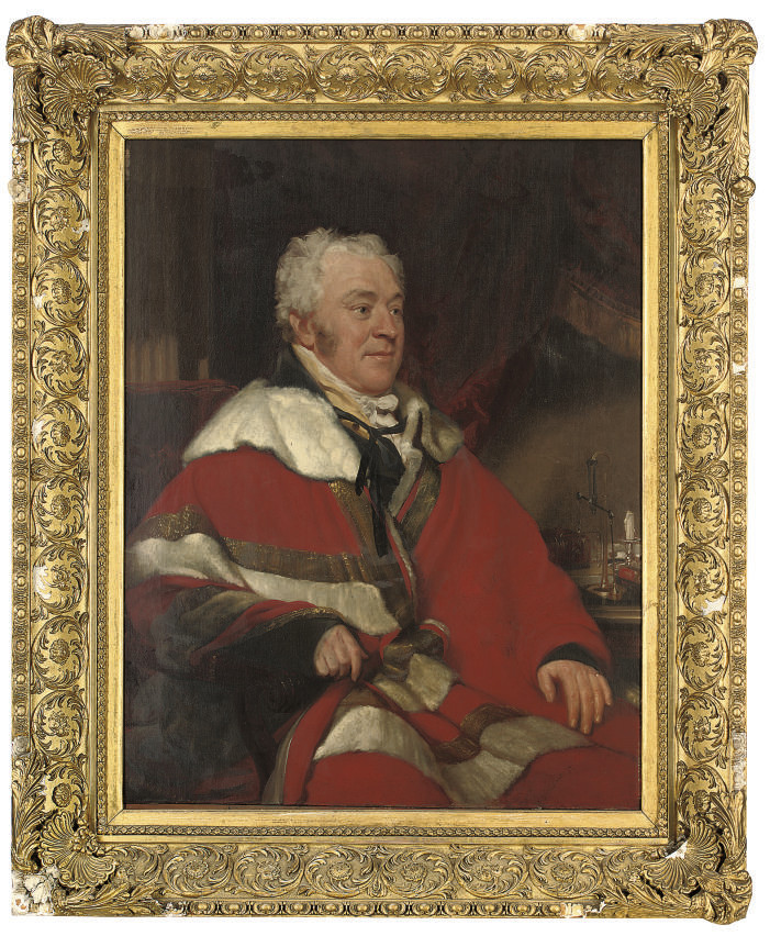 Portrait of Francis North, 4th Earl of Guilford (1761-1817), three-quarter-length, in academic robes