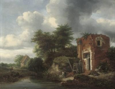 Follower of Jacob van Ruysdael